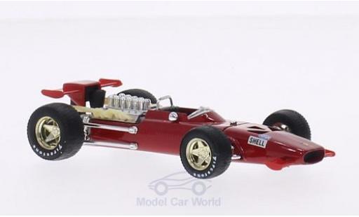 Ferrari 312 1/43 Brumm F1 Formel 1 Modena 1969 Testfahrzeug C.Amon miniature