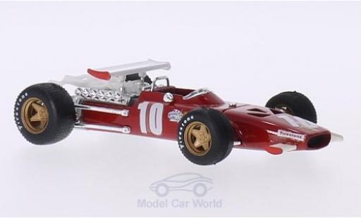 Ferrari 312 P 1/43 Brumm F1 No.10 Formel 1 G Italien 1969 .Rodriguez modellautos