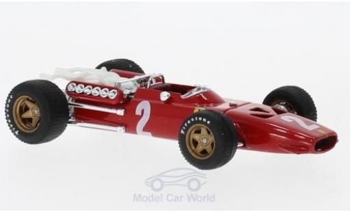 Ferrari 312 P 1/43 Brumm F1 No.2 Formel 1 GP Italien 1967 C.Amon miniatura