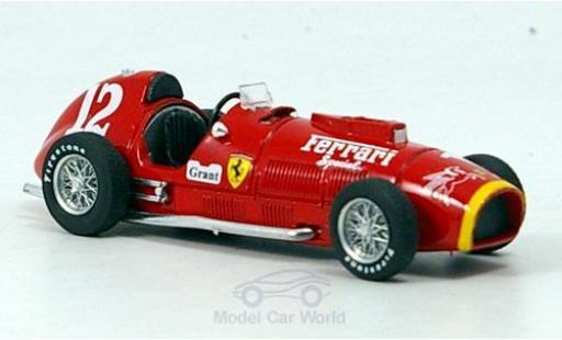 Ferrari 375 1/43 Brumm No.12 Indianapolis 1952 Rookie Test A.Ascari diecast