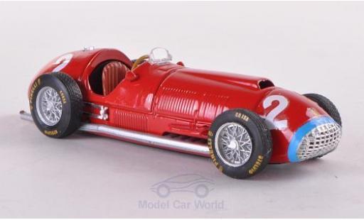 Ferrari 375 1/43 Brumm No.2 Formel 1 GP Italien 1951 A.Ascari miniature