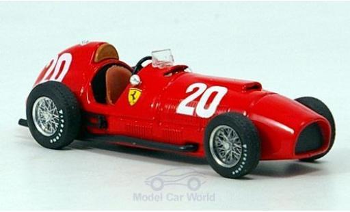 Ferrari 375 1/43 Brumm No.20 Formel 1 GP Schweiz 1951 A.Ascari diecast