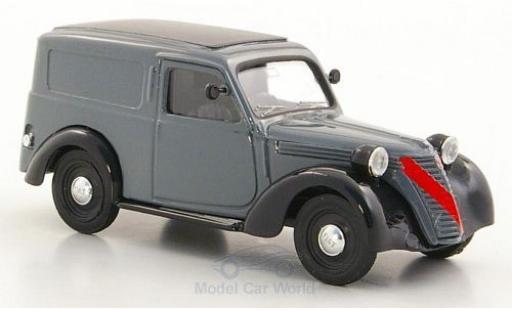 Fiat 1100 1947 1/43 Brumm Furgone grise/noire miniature