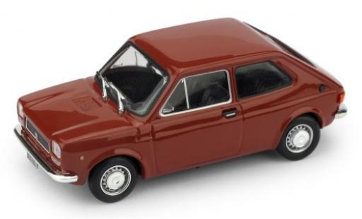 Fiat 127 1/43 Brumm (1.Serie) red 1972 diecast model cars