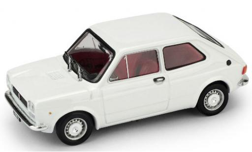Fiat 127 1/43 Brumm (1a Serie) white 1971 diecast model cars
