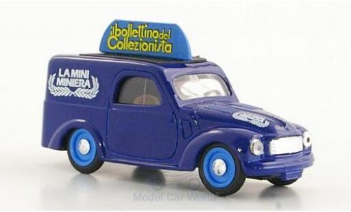 Fiat 500 L 1/43 Brumm C Furgoncino La Mini Miniera diecast