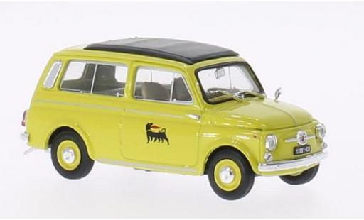 Fiat 500 1/43 Brumm Giardiniera Agip 1960 diecast model cars