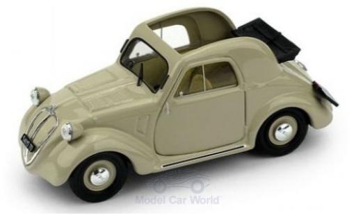 Fiat 500 1/43 Brumm A 1.Serie beige 1936 diecast