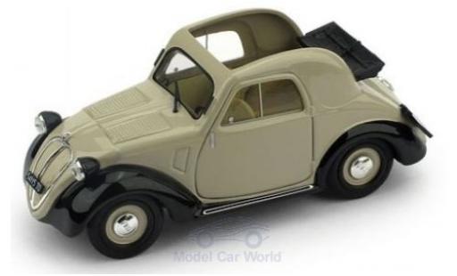 Fiat 500 1/43 Brumm A 1.Serie beige/noire 1936