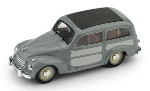 Fiat 500 1/43 Brumm C Belvedere grise/grise 1951 miniature