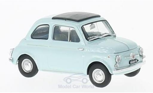 Fiat 500 1/43 Brumm D blue 1964 diecast model cars