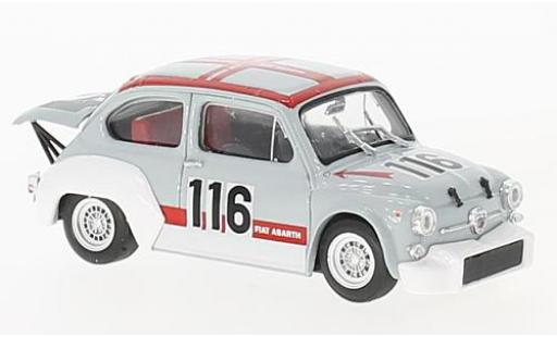 Fiat Abarth 1000 1/43 Brumm Gr.2/70 No.116 Abarth Svolte di Popoli 1970 F.Palumbo diecast model cars