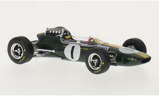 Lotus 33 1/43 Brumm No.1 Formel 1 GP Deutschland 1965 J.Clark miniature