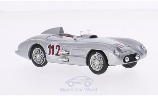 Mercedes 300 1/43 Brumm SLR No.112 Targa Florio 1955 miniature