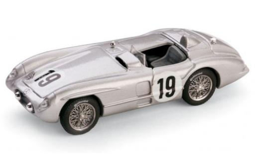 Mercedes 300 1/43 Brumm SLR No.19 24h Le Mans 1955 Moss Collection J.M.Fangio/S.Moss