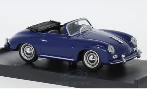 Porsche 356 1/43 Brumm Cabriolet bleue 1952 miniature