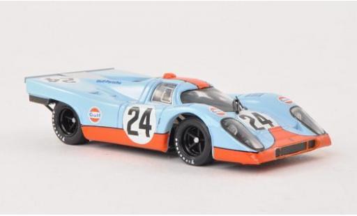 Porsche 917 1/43 Brumm K No.24 JWA-Gulf 1000km Spa 1970 miniature