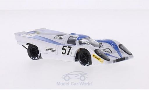 Porsche 917 1/43 Brumm K No.57 Zitro Racing Team 24h Le Mans 1971 D.Martin/G.Pillon diecast