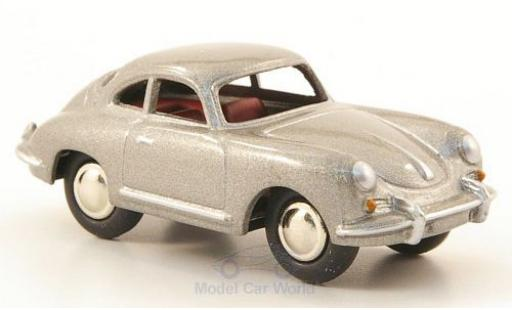Porsche 356 A 1/87 Bub B T5 metallise grey diecast model cars