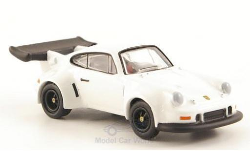 Porsche 911 Turbo 1/87 Bub R Turbo blanche miniature