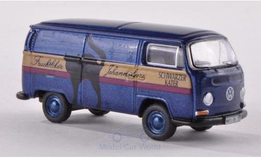 Volkswagen T2 A 1/87 Bub Schwarzer Kater Kastenwagen miniature