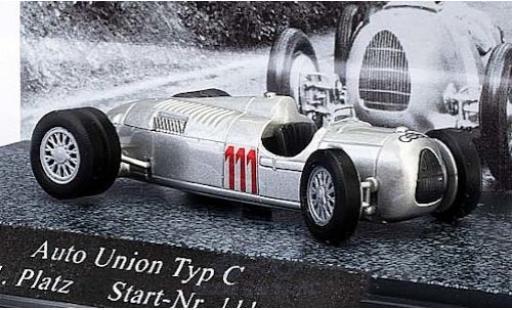 Auto Union Typ C 1/87 Busch No.111 Schauinsland 1936 H.Stuck miniature