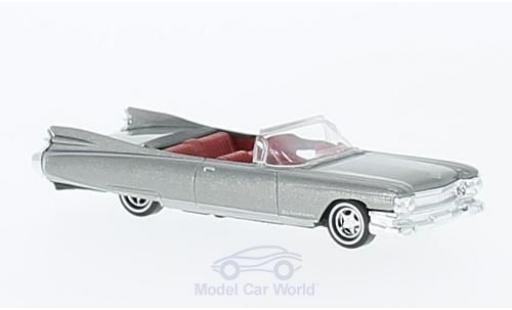 Cadillac Eldorado 1/87 Busch Convertible metallise grise 1959