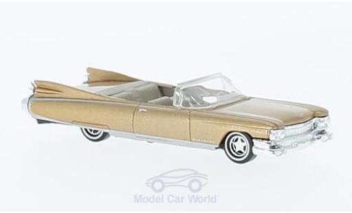 Cadillac Eldorado 1/87 Busch Convertibnle metallise beige 1959 miniature
