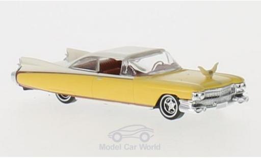 Cadillac Eldorado 1/87 Busch yellow/white Rodeo diecast model cars