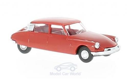 Citroen DS 19 1/87 Busch rouge miniature