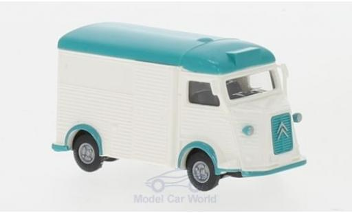 Citroen Type H 1/87 Busch Coffee and Crepes mit Girlanden modellino in miniatura