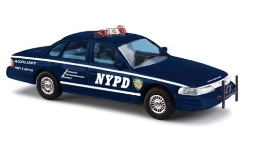 Ford Crown 1/87 Busch Victoria NYPD Auxiliary Police miniature