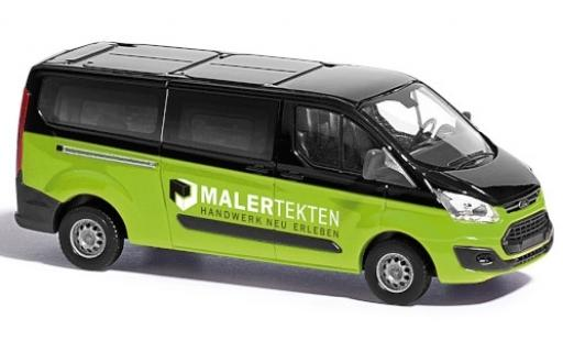 Ford Transit 1/87 Busch Custom Bus Maler Tekten 2012 miniature