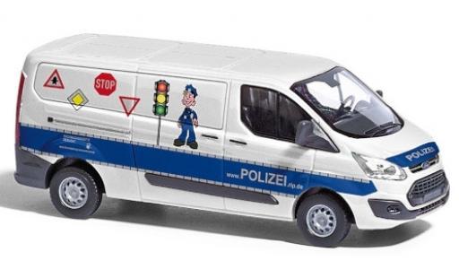 Ford Transit 1/87 Busch Custom Bus Polizei Verkehrssicherheitsberatung 2012