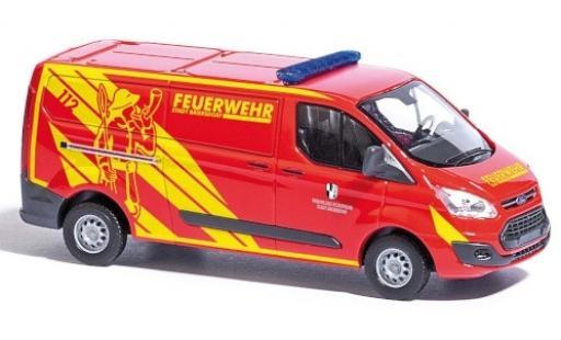 Ford Transit 1/87 Busch Custom Feuerwehr Baiersdorf fourgon coche miniatura
