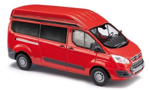 Ford Transit 1/87 Busch Custom Hochdach rouge bus miniature