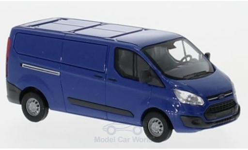 Ford Transit 1/87 Busch Custom Kasten bleue 2012 miniature