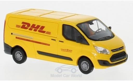 Ford Transit 1/87 Busch Custom Kasten DHL 2012 modellino in miniatura