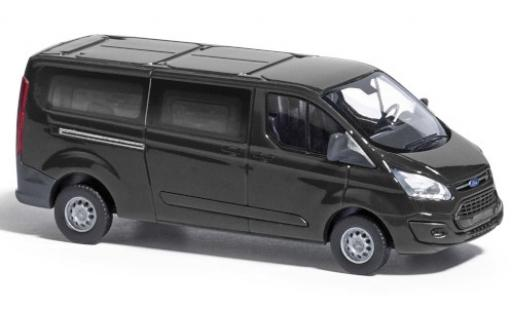 Ford Transit 1/87 Busch Custom noire 2012 bus