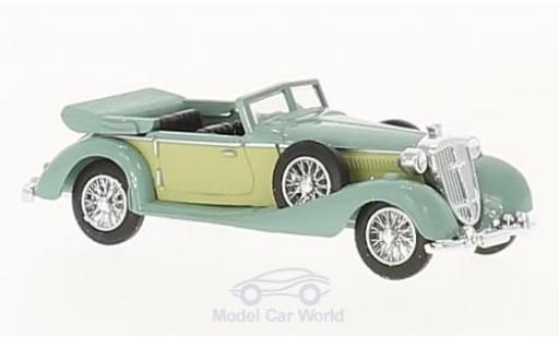 Horch 853 1/87 Busch Cabriolet verte 1933 miniature