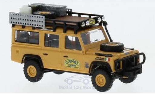 Land Rover Defender 1/87 Busch Camel Trophy Italien miniature