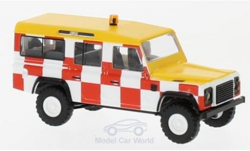 Land Rover Defender 1/87 Busch RHD Flughafen England 1983 miniatura