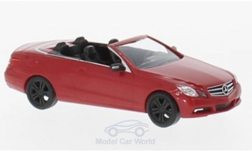 Mercedes Classe E 1/87 Busch Cabriolet Sport (A 207) rouge 2010 miniature