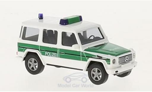 Mercedes Classe G 1/87 Busch Bundesgrenzschutz 1990 diecast model cars