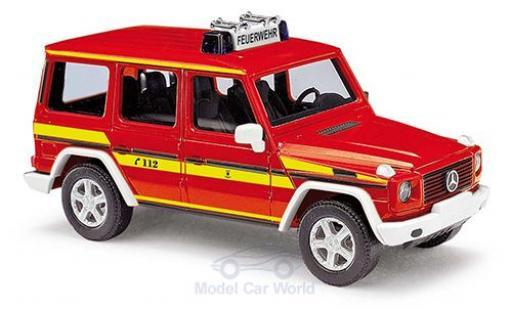 Mercedes Classe G 1/87 Busch Feuerwehr München 1990 diecast model cars