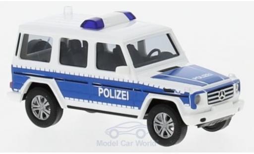 Mercedes Classe G 1/87 Busch Polizei Brandenburg 2008 diecast model cars