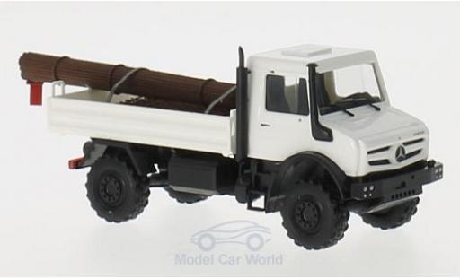 Mercedes Unimog 1/87 Busch U 5023 mit Stahlladung miniature