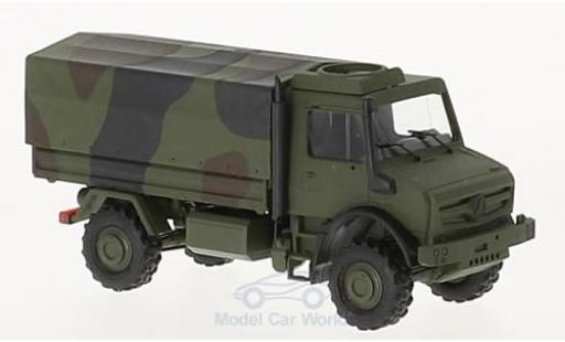 Mercedes Unimog 1/87 Busch U5023 2014 Militär in Tarnfarbe miniature