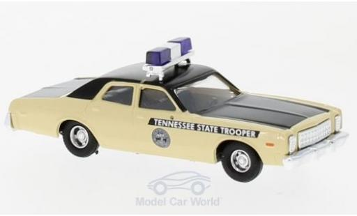 Plymouth Fury 1/87 Busch Tennessee State Trooper 1976 miniature