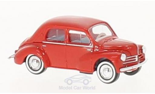 Renault 4CV 1/87 Busch rouge 1958 miniature